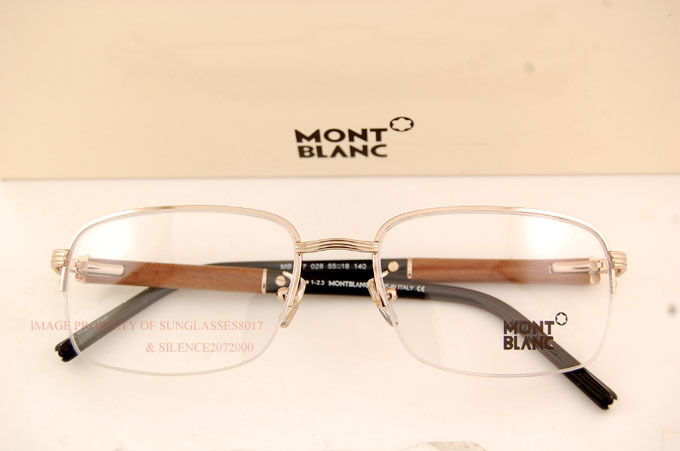 Real Gold Glasses Frames : Brand New MONT BLANC Eyeglass Frames 447 028 Real Wood ...