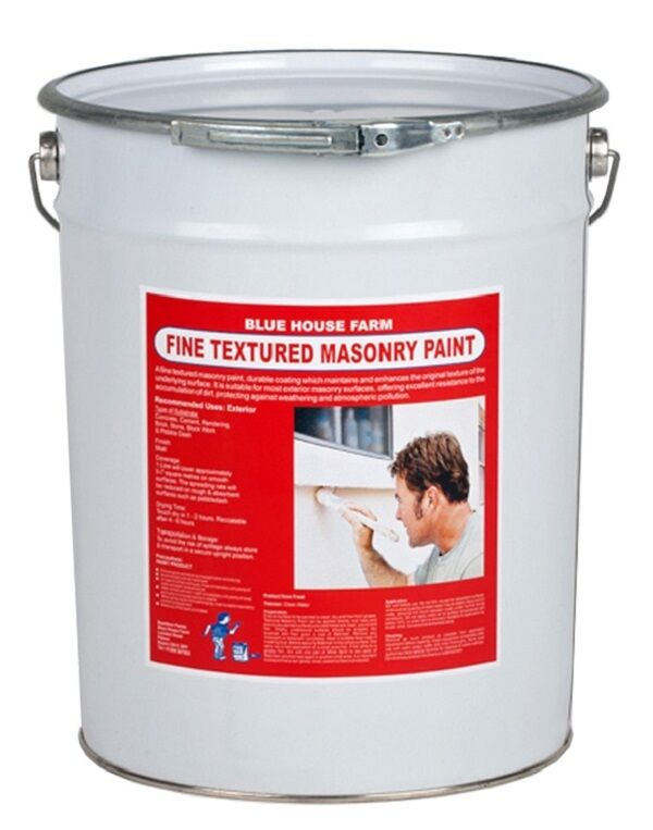 20 Litre Trade Fine Textured Masonry Paint Colours Free Postage Ebay