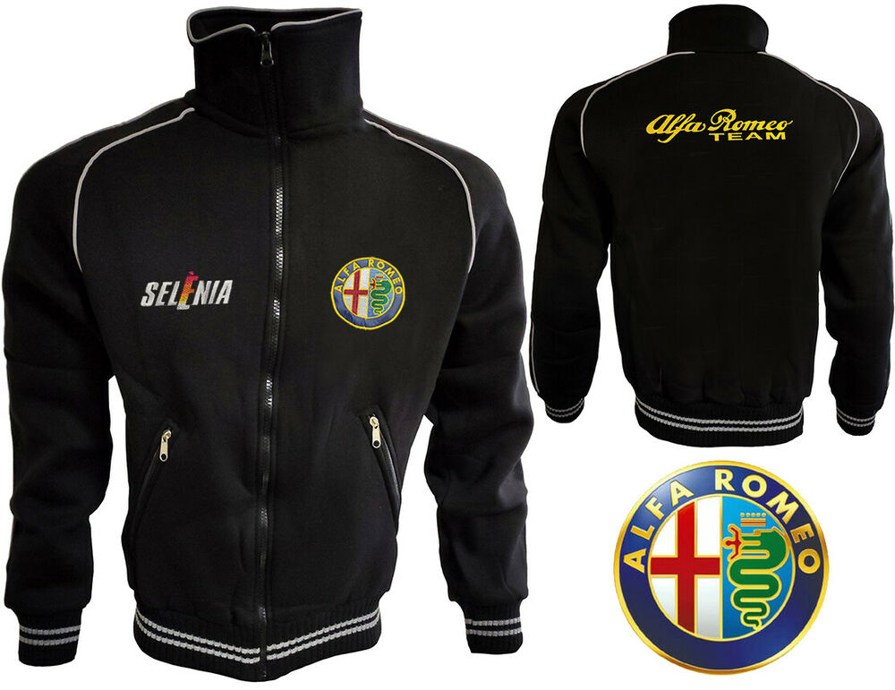 alfa romeo polar fleece jacket coat veste parka. Black Bedroom Furniture Sets. Home Design Ideas