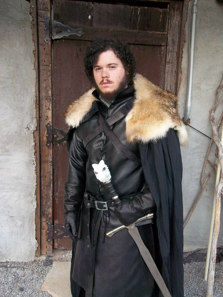 game of thrones jon snow costume ebay. Black Bedroom Furniture Sets. Home Design Ideas