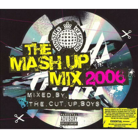 img-Various Artists : The Mash Up Mix 2006: Mixed By the Cut Up Boys CD 2 discs