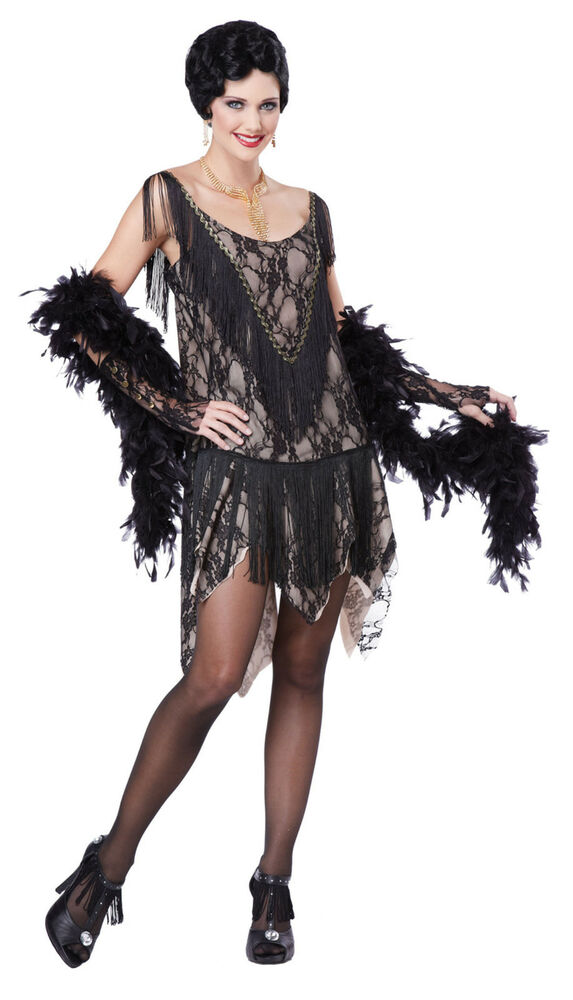 flapper costume adult womens sexy gatsby girl roaring 20s