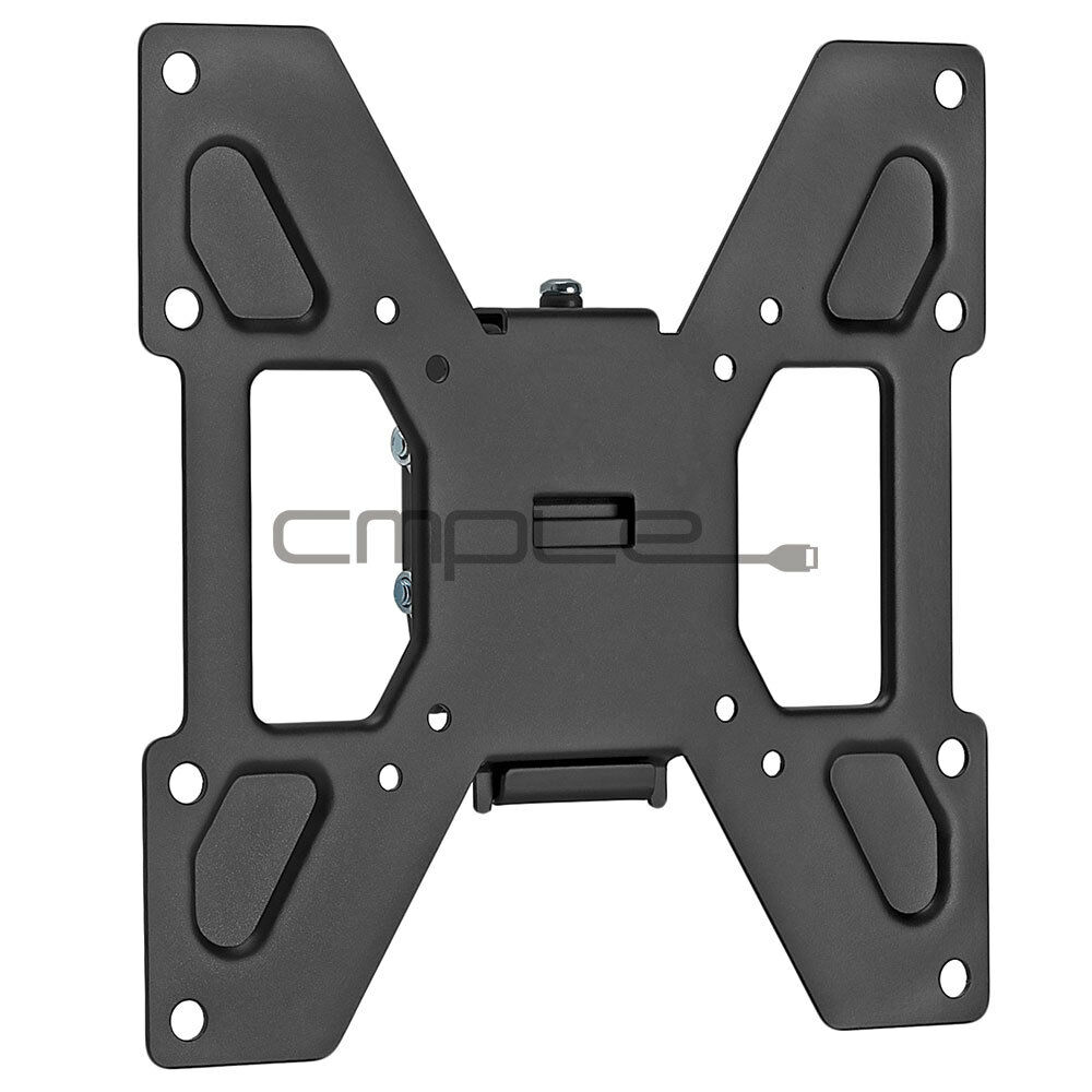 slim flat tilting tv wall mount bracket lcd plasma 23 25 27 32 37 40 42 inch ebay. Black Bedroom Furniture Sets. Home Design Ideas