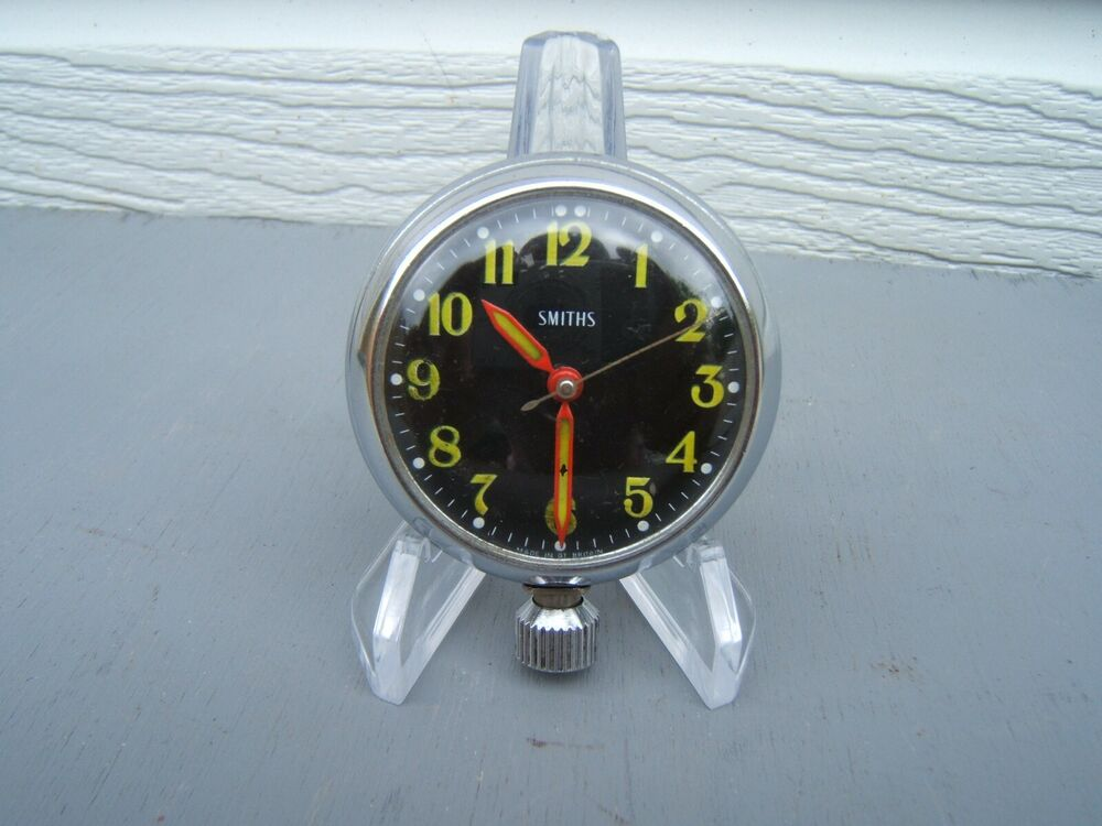 Smiths pocket watch magnetic dashboard chrome working with magnet shiny sd12 ebay for Magnetic watches