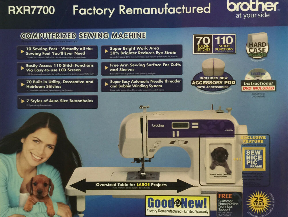 sewing machine xr7700