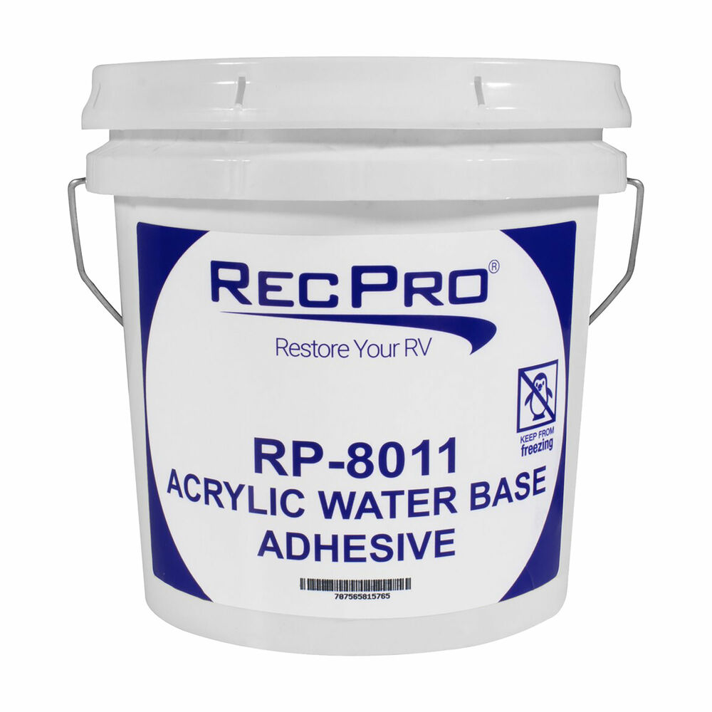 Rv Rubber Roof Adhesive Alpha Dicor Gallon Water Based