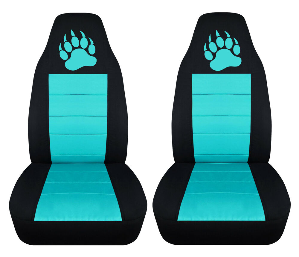 Jeep Seat Covers >> CC fits Jeep Cherokee front CAR SEAT COVERS,BLACK/TAN/CHARC/PINK .25 colors | eBay