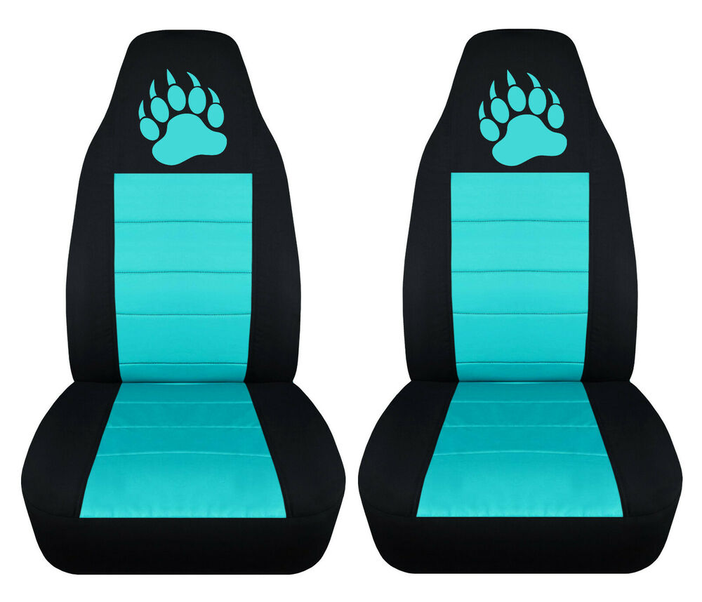 cc fits jeep cherokee front car seat covers black tan charc pink 25 colors ebay. Black Bedroom Furniture Sets. Home Design Ideas