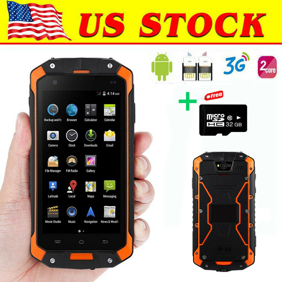 4 Quot Discovery V8 2g 3g Smartphone Rugged Android 4 2 Land