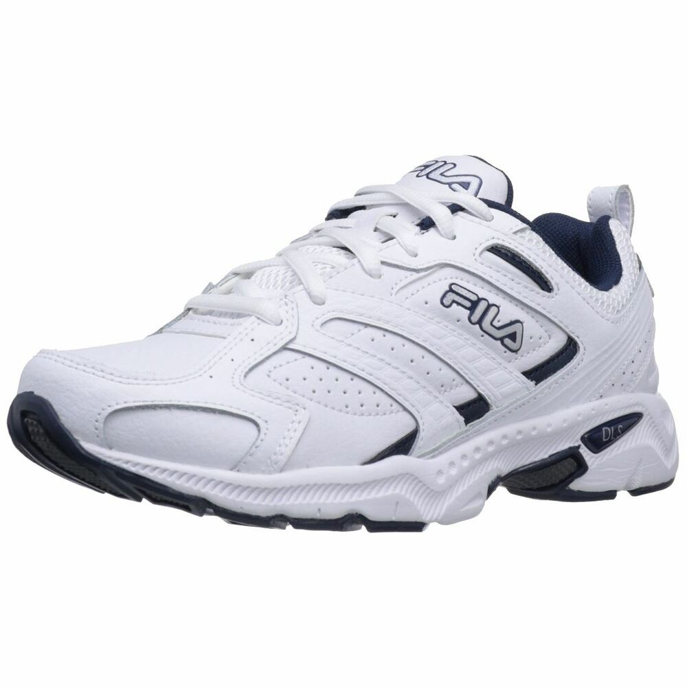 Fila CAPTURE Mens White Peacoat Metallic Silver Athletic Sneakers Shoes | EBay