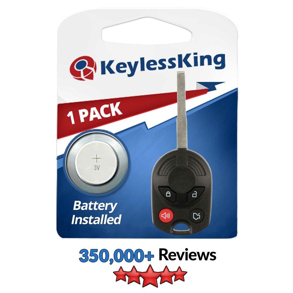 New Replacement Keyless Entry Remote High Security Car Key
