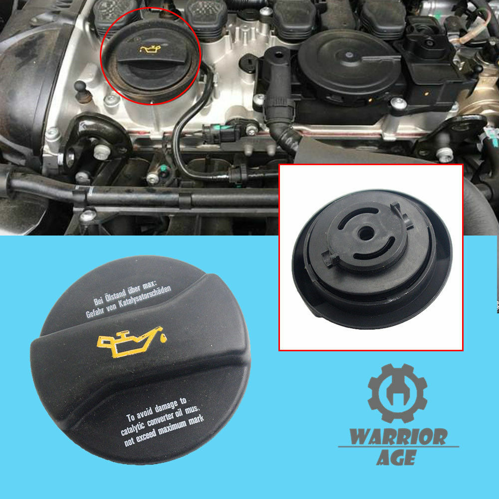 new engine motor oil filler cover cap for audi a4 a6