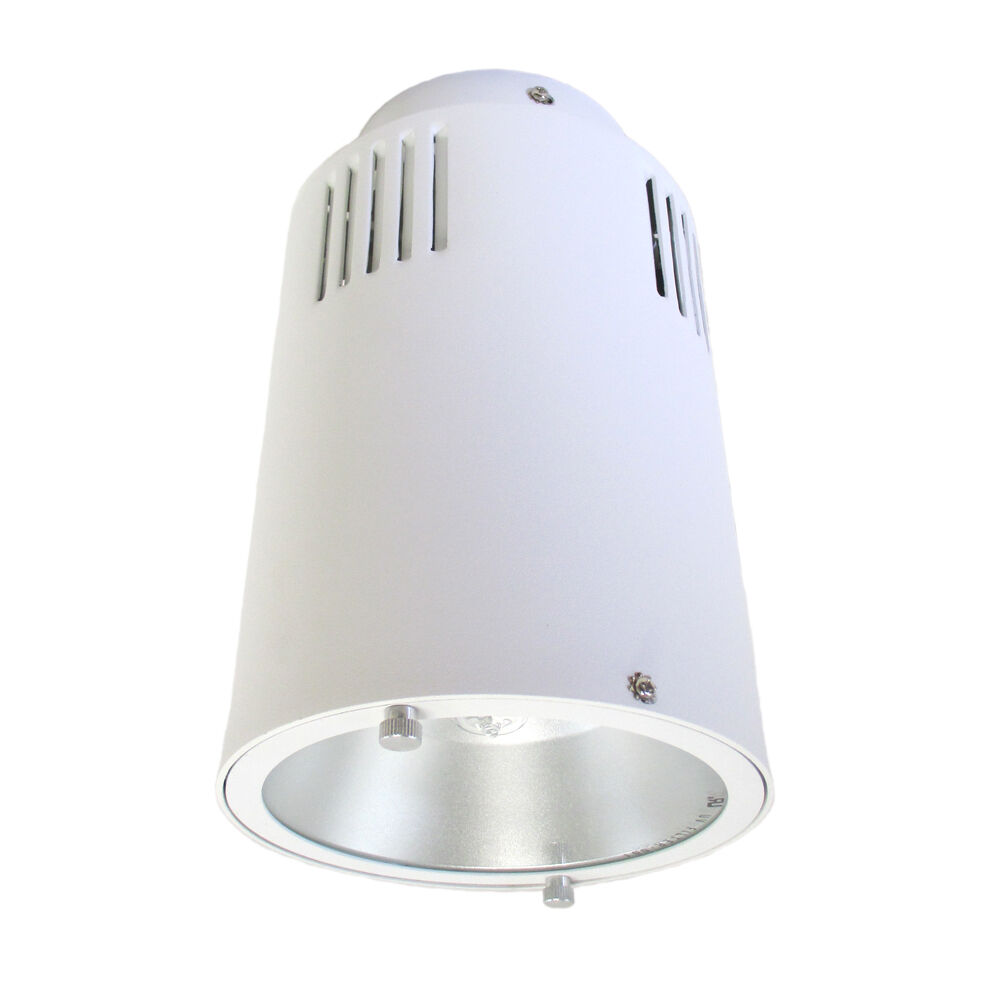 White Metal Halide Surface Mount Can Ceiling Light Fixture