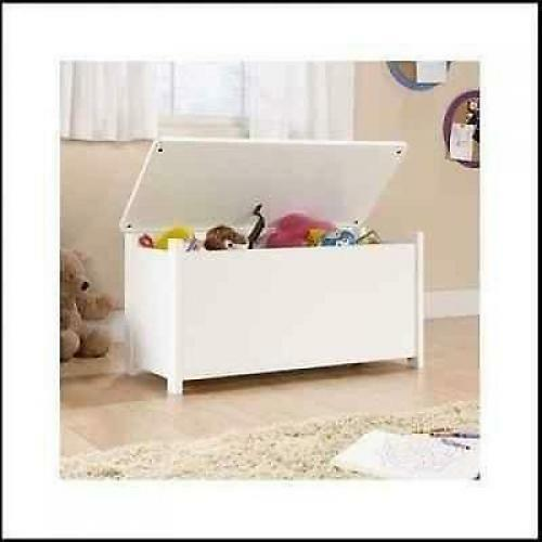 Kids Storage Bench Furniture Toy Box Bedroom Playroom: Kids Toy Box Childrens Bedroom Furniture Storage Chest Bin