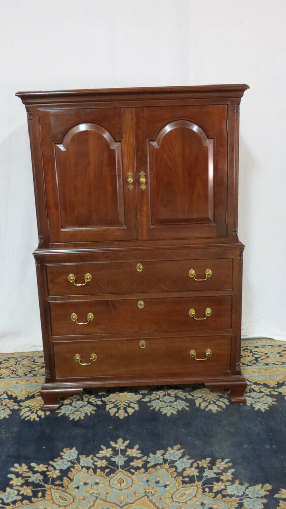 stickley bedroom furniture stickley armoire chest cherry set ebay 13393