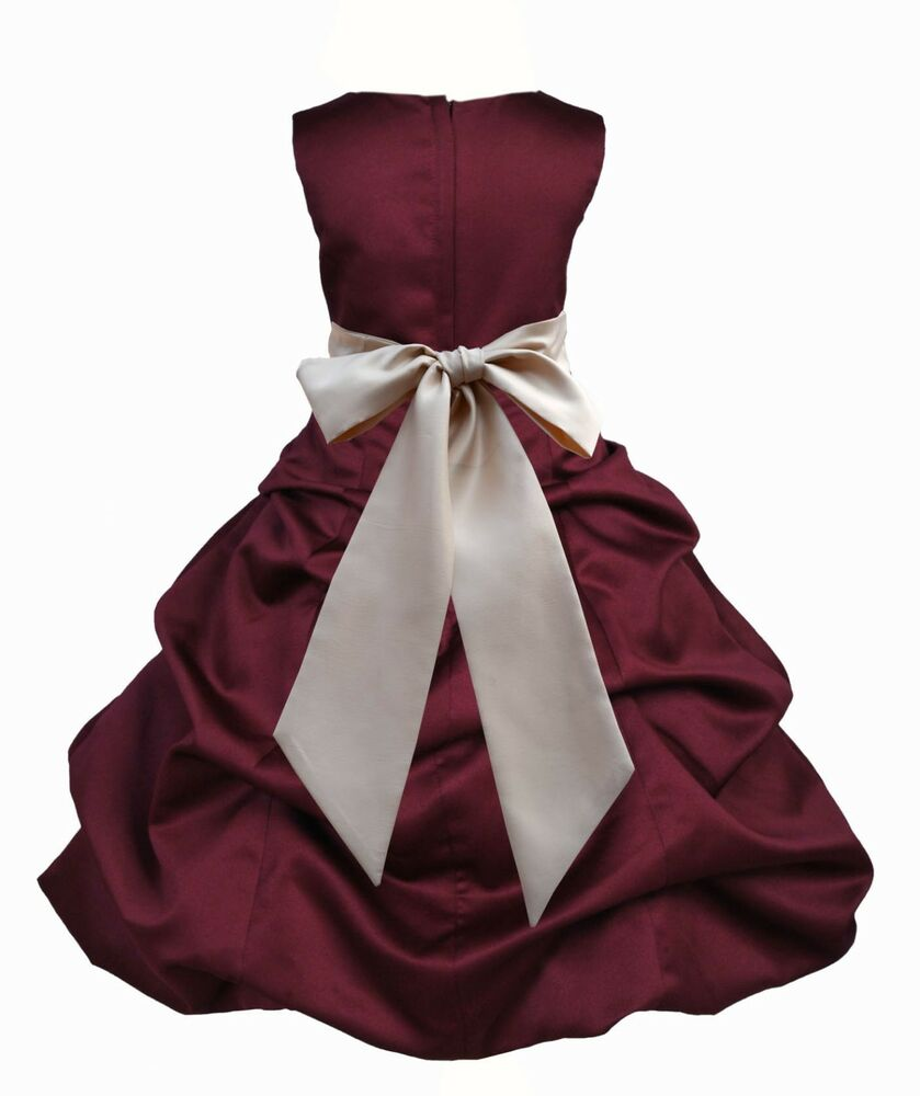 Holiday flower girl dress sizes 2 2t 3 3t 4 4t 5 5t 6 6x 7 8 9 10 11