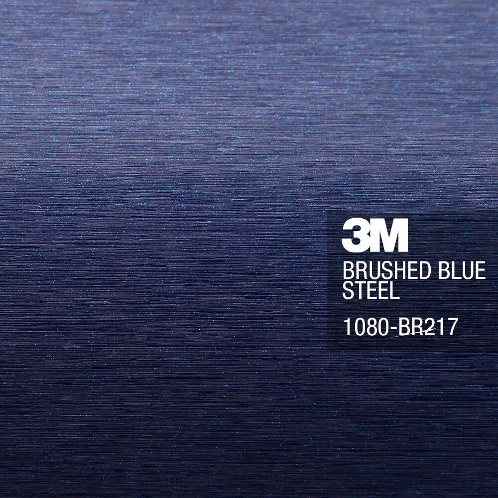 3m 1080 brushed blue steel vinyl vehicle decal car wrap film sheet roll ebay. Black Bedroom Furniture Sets. Home Design Ideas