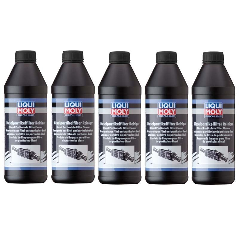 set of 5 liqui moly pro line diesel particulate filter. Black Bedroom Furniture Sets. Home Design Ideas