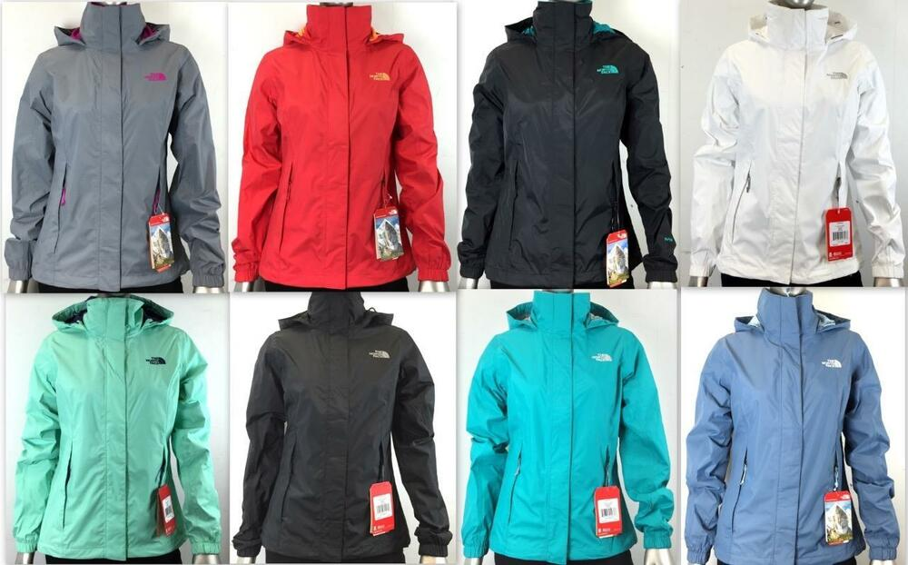 New The North Face Women's Waterproof Resolve Jacket AQBJ ...