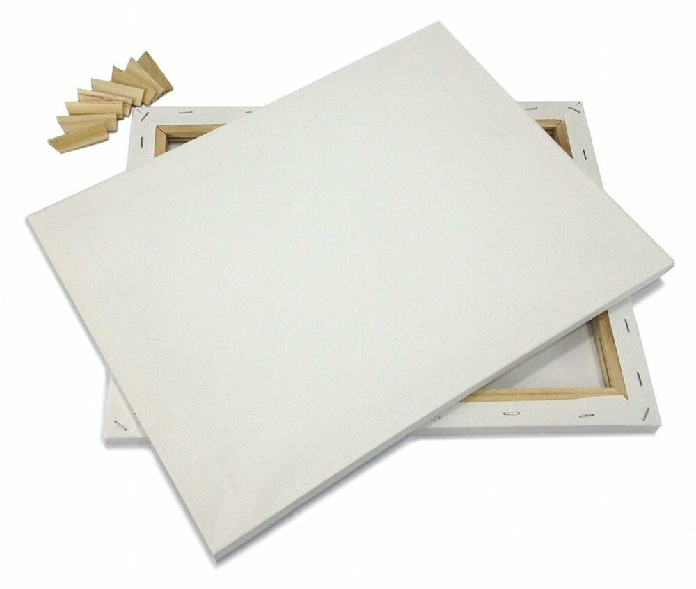 Painter 39 s supply set of 2 artist canvas framed pre for How to canvas art