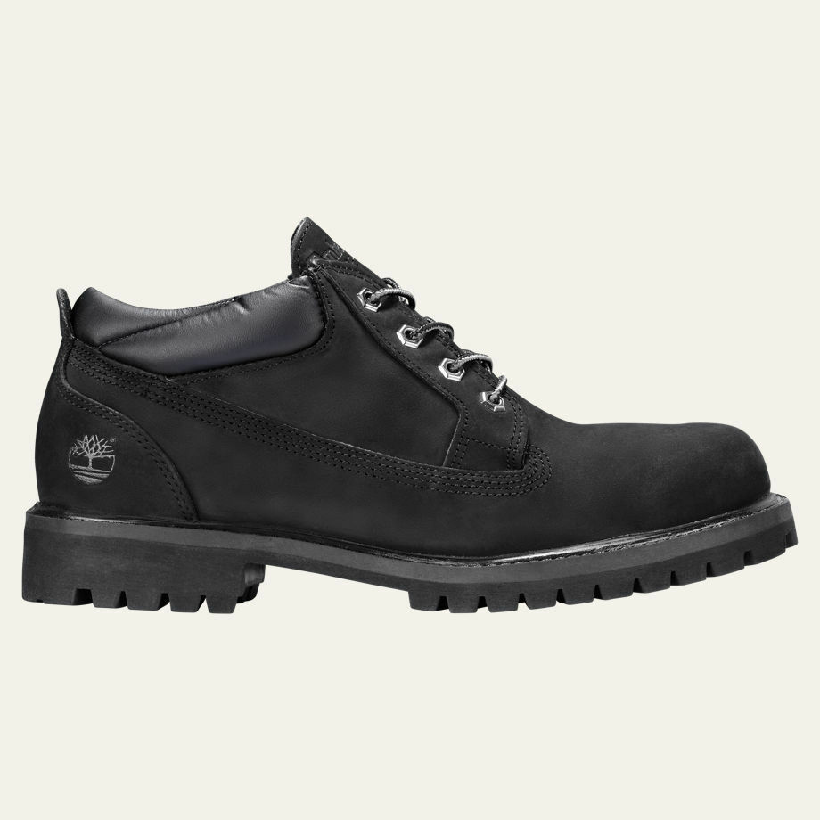 timberland s classic oxford waterproof black work