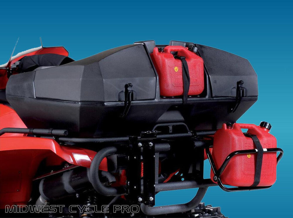 Quadboss Weekender Trunk Atv Luggage With Seat Amp Gas Can