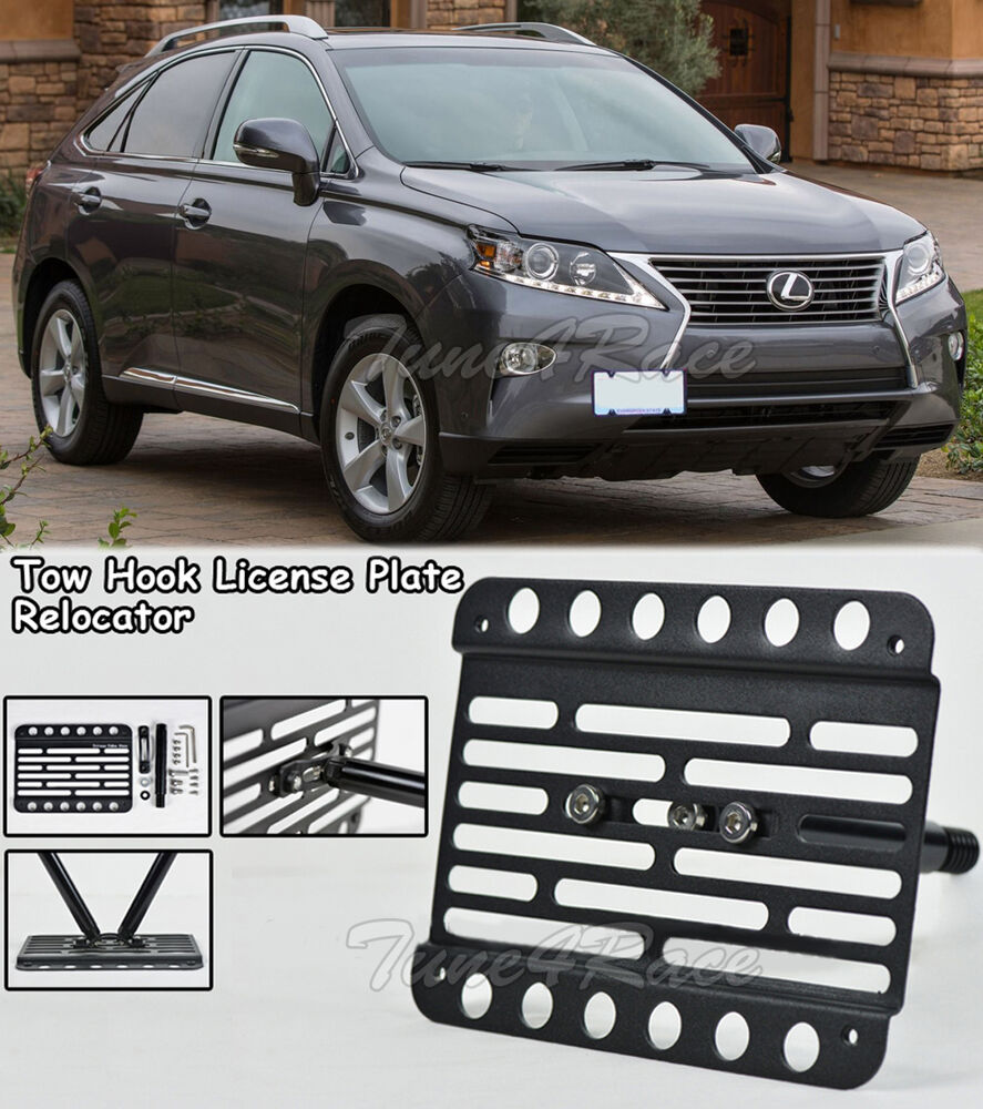 For 10-15 Lexus RX 350 450H base Front Bumper Tow Hook License Plate ...
