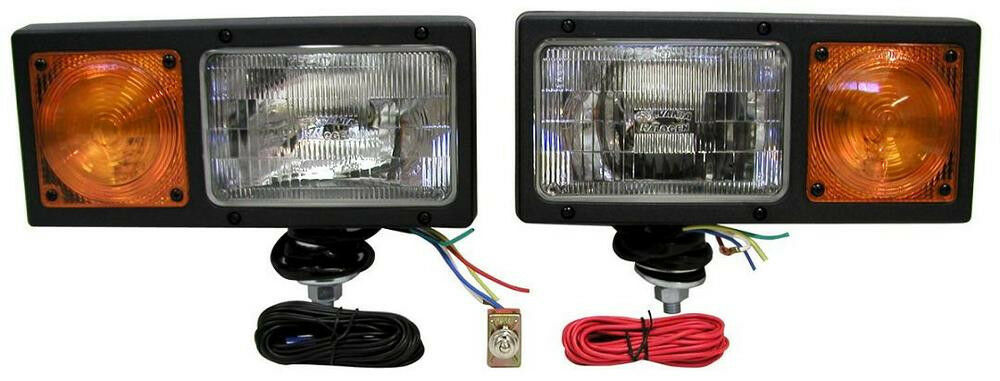 Peterson 505k Bladelights 174 Complete Plow Light Kit W