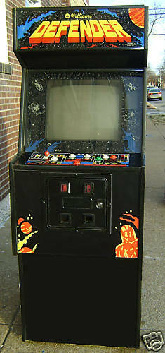 Used Arcade Games Sale : Defender arcade video game refurbished ebay