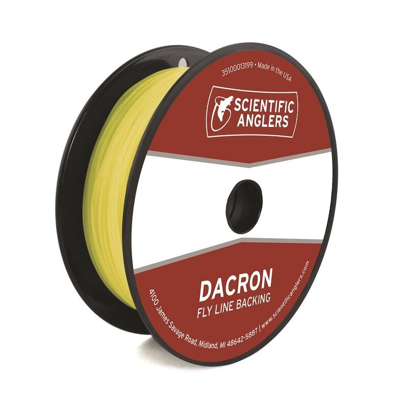 Scientific anglers dacron fly line backing 20lb 100 for Dacron fishing line