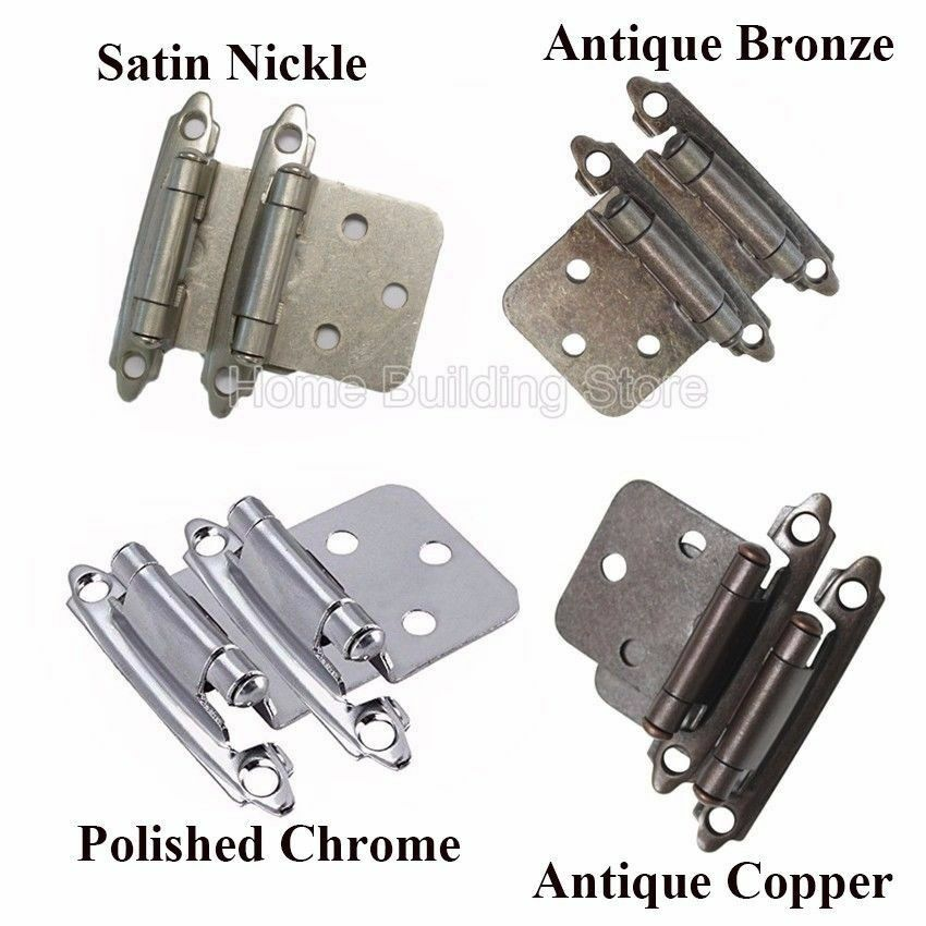 self closing door hinges for kitchen cabinets flush hinges kitchen cabinet cupboard self closing buffer 25912