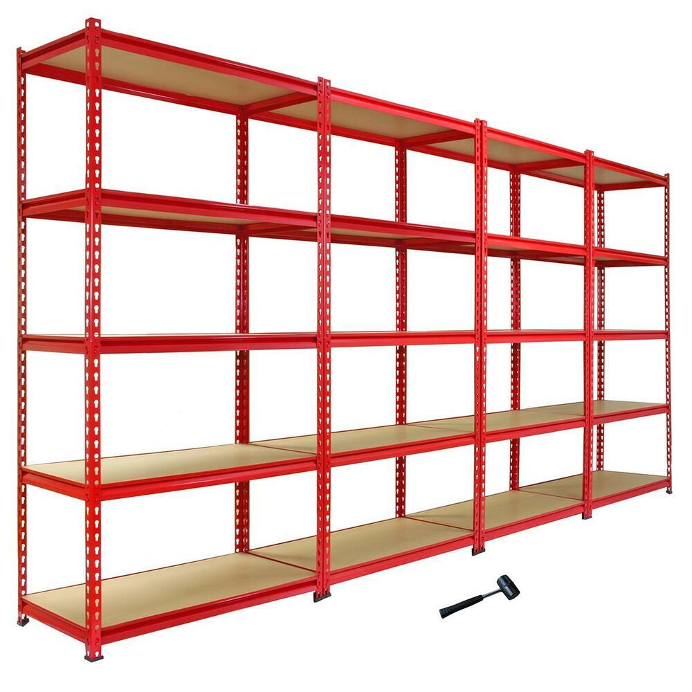 storage shelving units 4 heavy duty shelving racking garage 5 tier storage units 26896