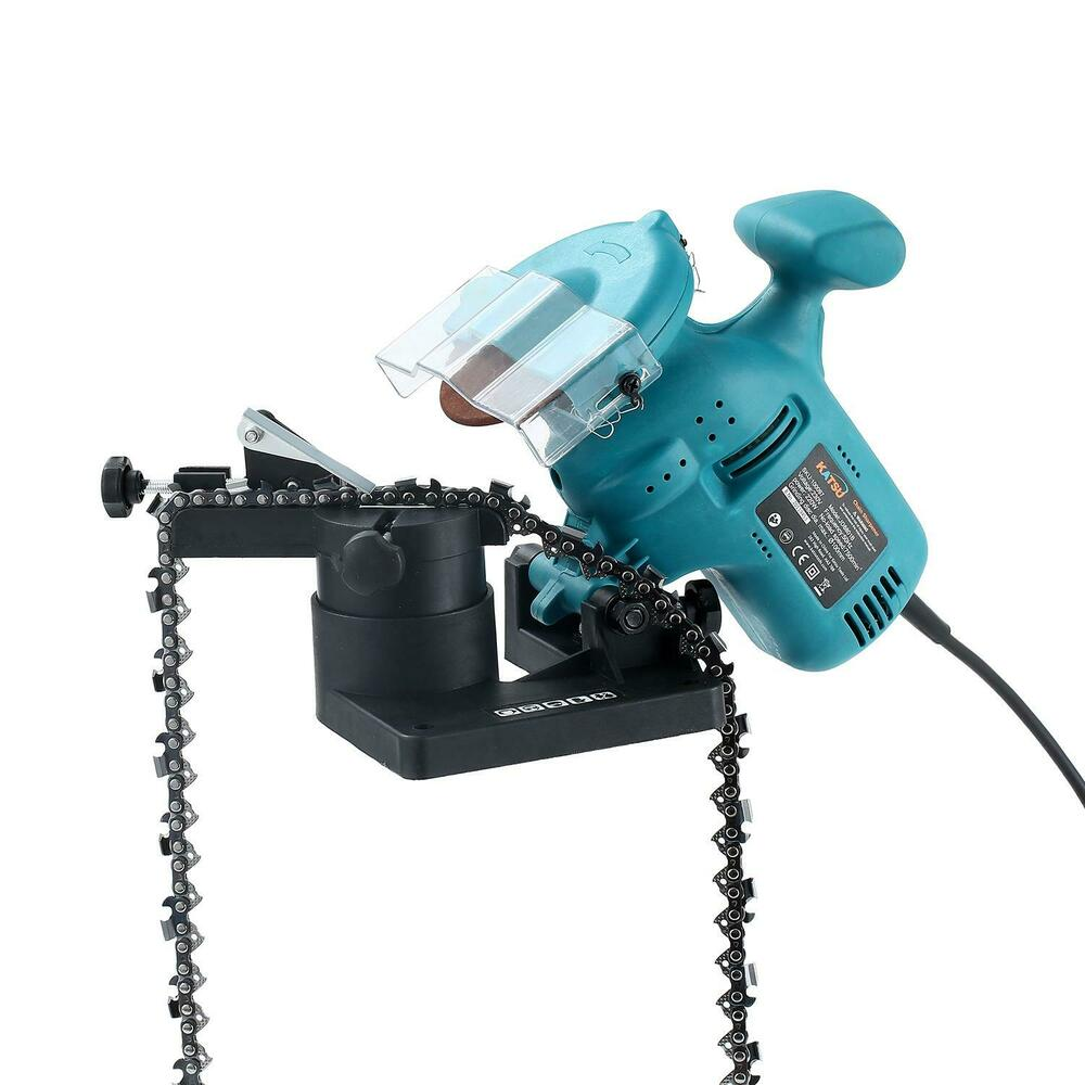 100097 Electric Chainsaw Bench Mounted Sharpener Grinder