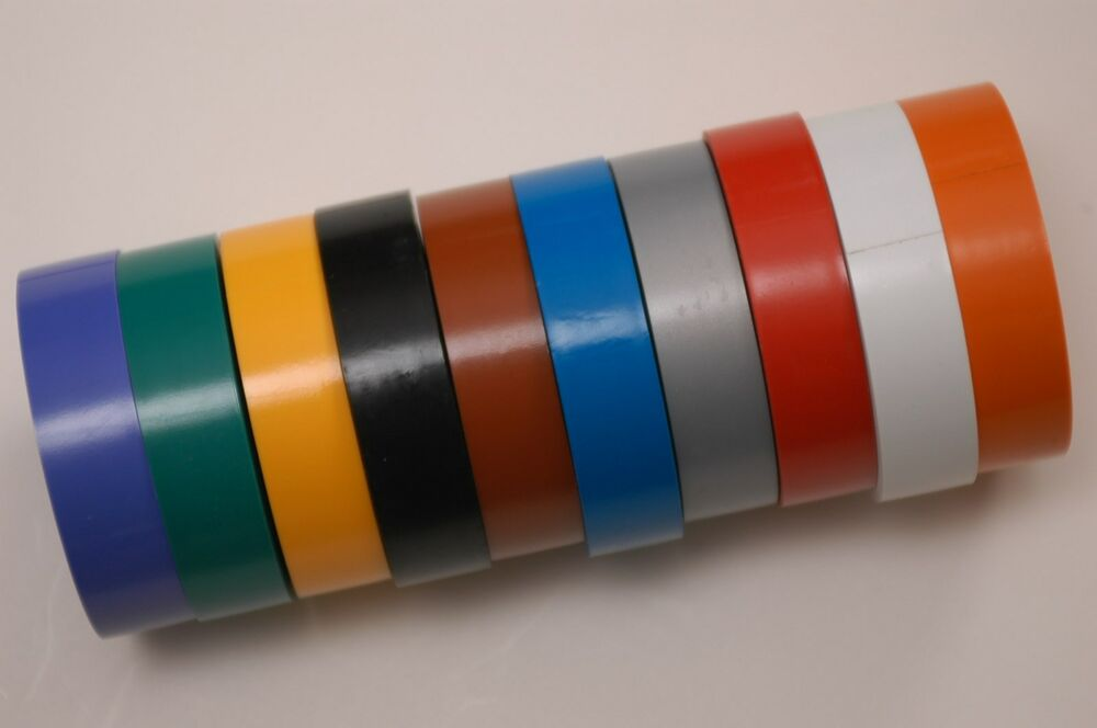 Speaker Wire Color Code : Rolls audio microphone cable color coding tape