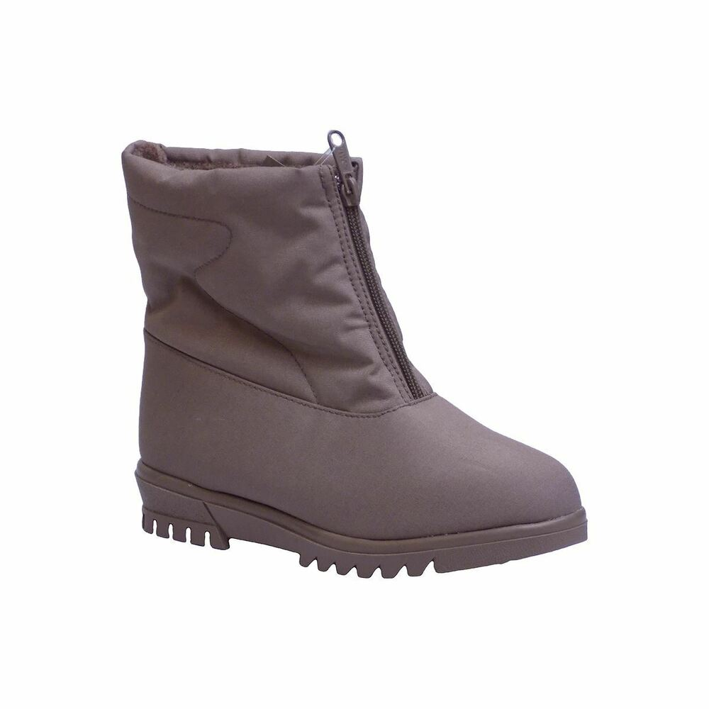 Toe Warmers ABOUTOWN Womens T38 Taupe Waterproof Winter