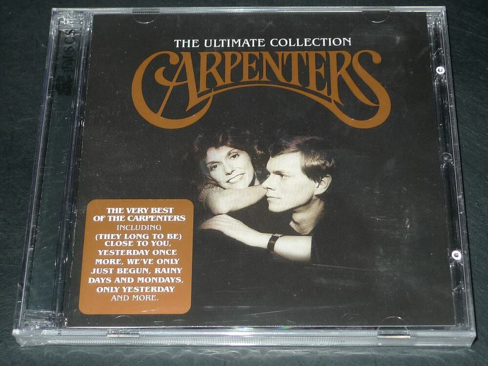 Carpenters Ultimate Collection: The Ultimate Collection By Carpenters 2CD 602498446263