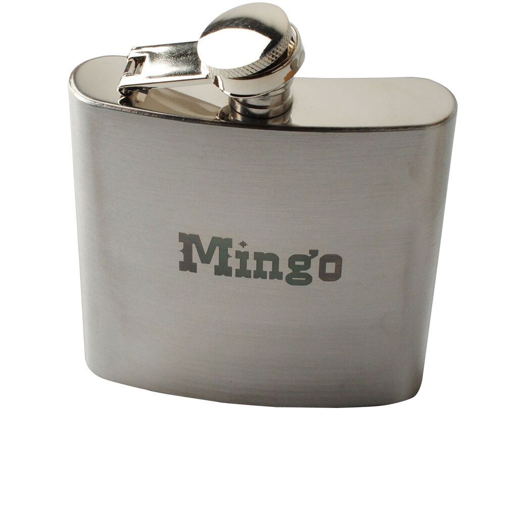 Personalized Engraved Custom 6oz Hip Flask Stainless Steel ...