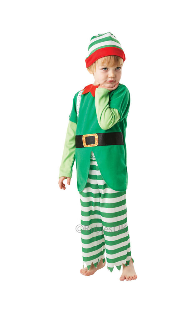 Helpful Elf Costume For Kids Christmas Costume Boys And ...