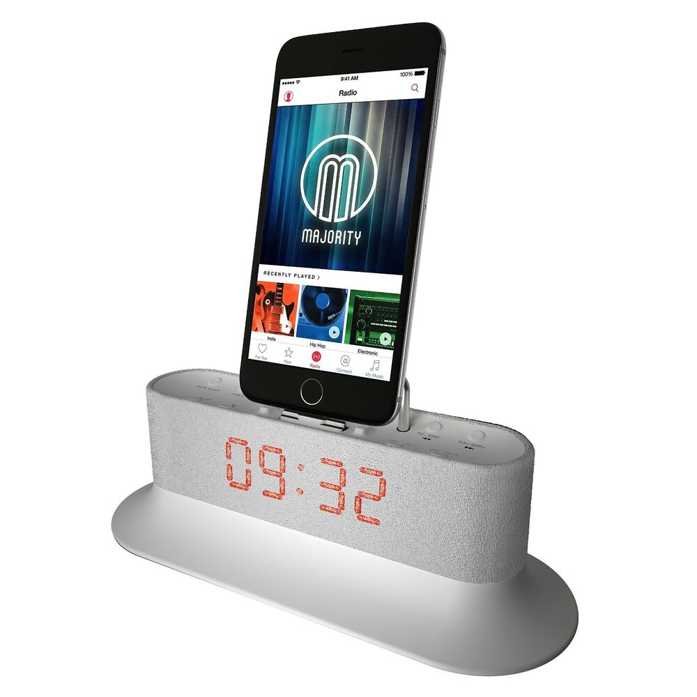 majority mercury docking station speaker dock for ipod. Black Bedroom Furniture Sets. Home Design Ideas
