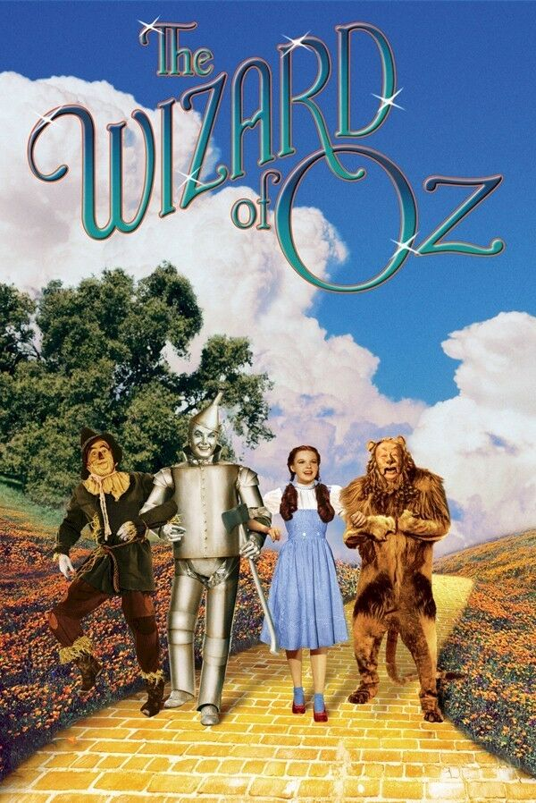 THE WIZARD OF OZ ~ YELLOW BRICK ROAD CAST 24x36 MOVIE ...  THE WIZARD OF O...