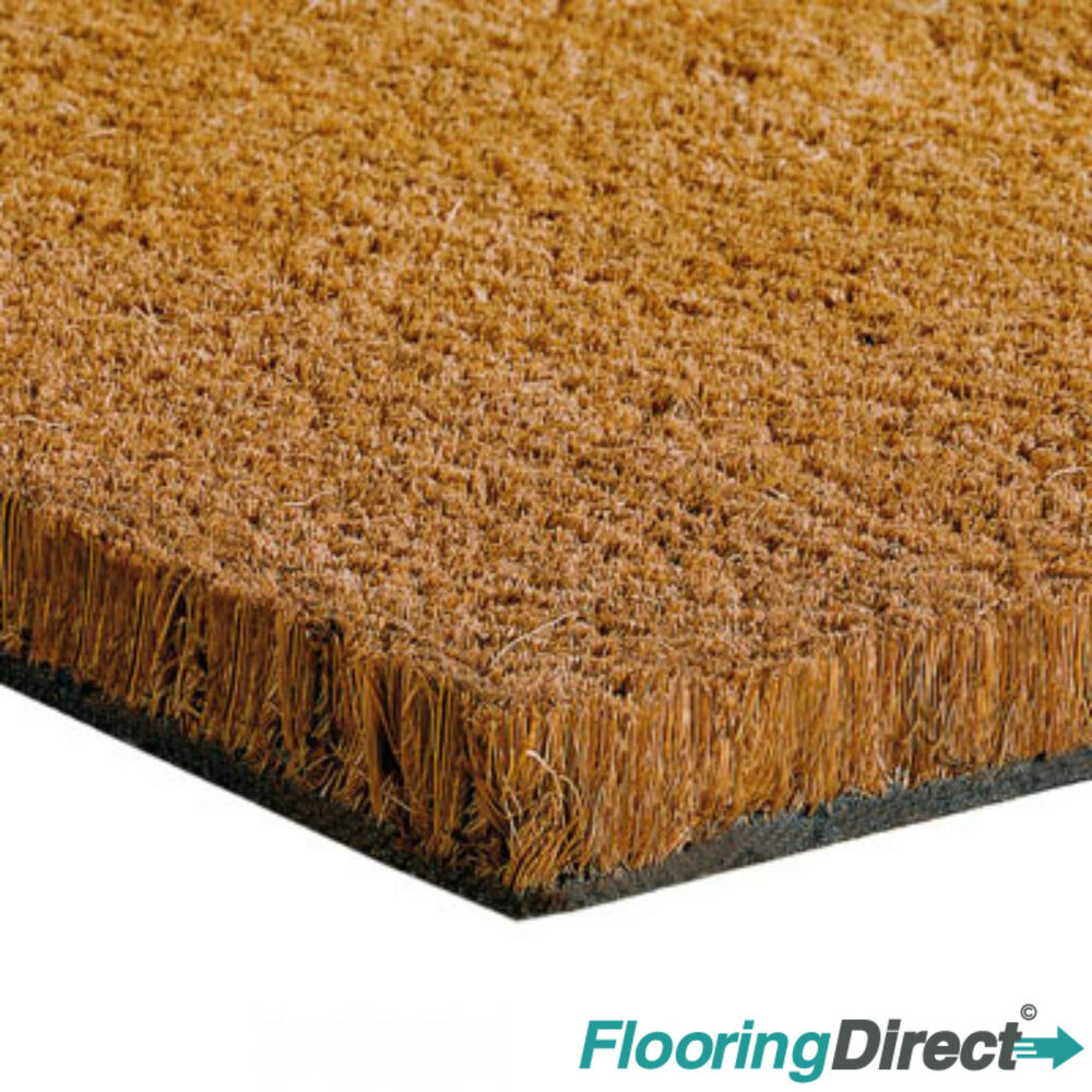 Heavy Duty Coir Matting Coconut Door Mat 17mm 1m 2m Wide