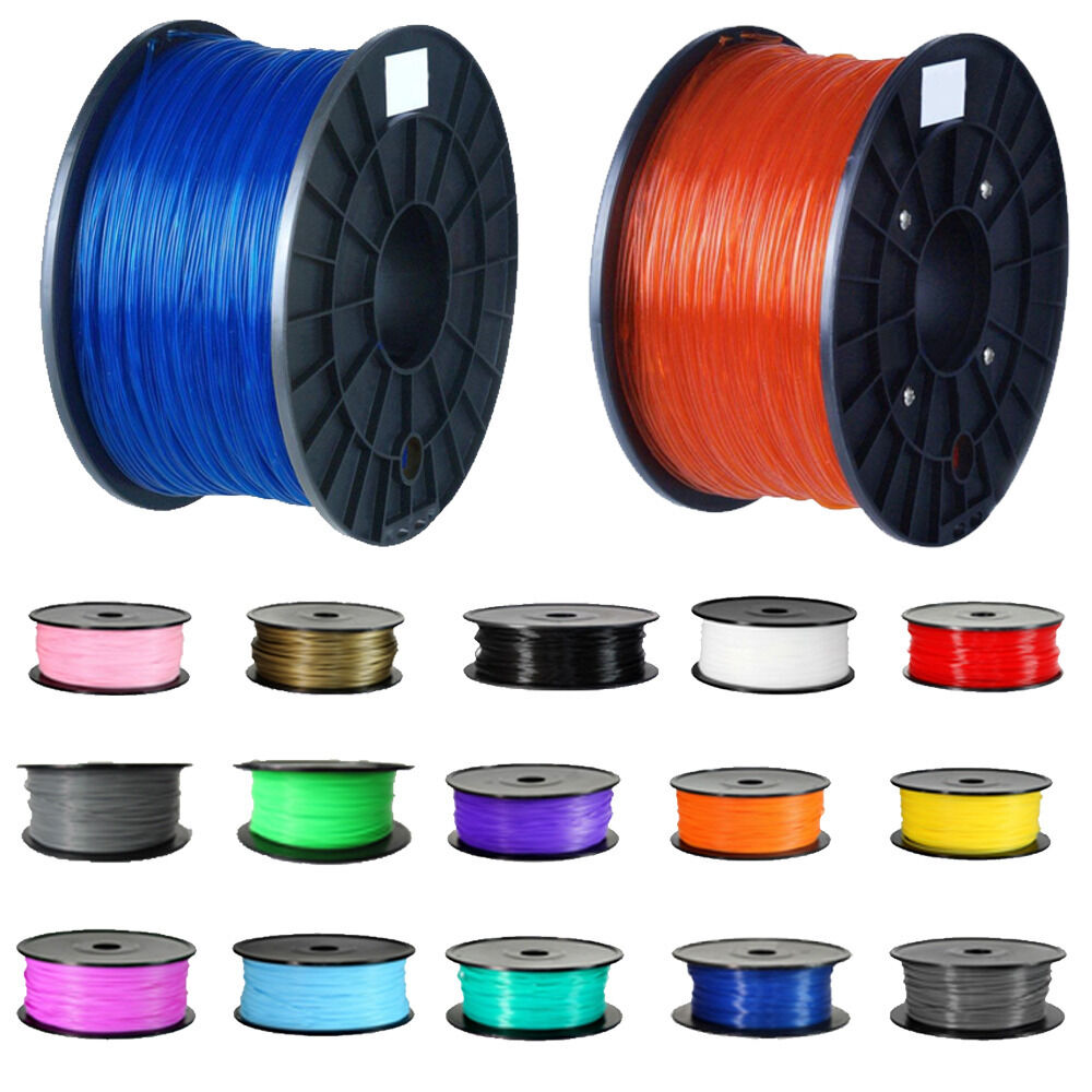 20m 3d drucker abs pla printer filament makerbot reprap ebay. Black Bedroom Furniture Sets. Home Design Ideas