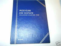 Whitman Folder # 9696 for Mexican 1 Centavo, NEW!!!