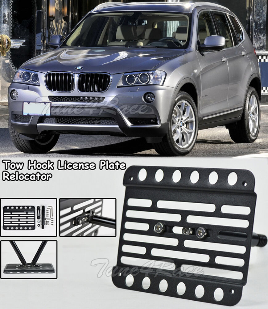For 06-10 BMW E83 X3 Front Tow Hook License Plate
