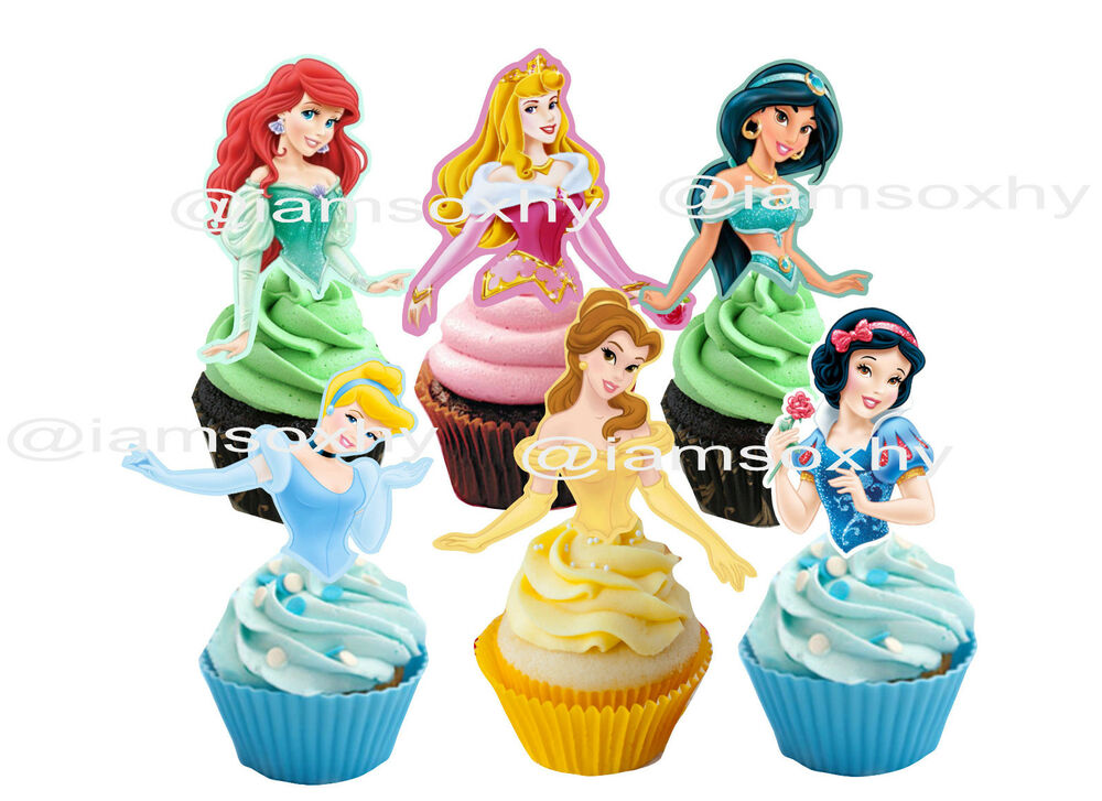 Edible Disney Cake Figurines