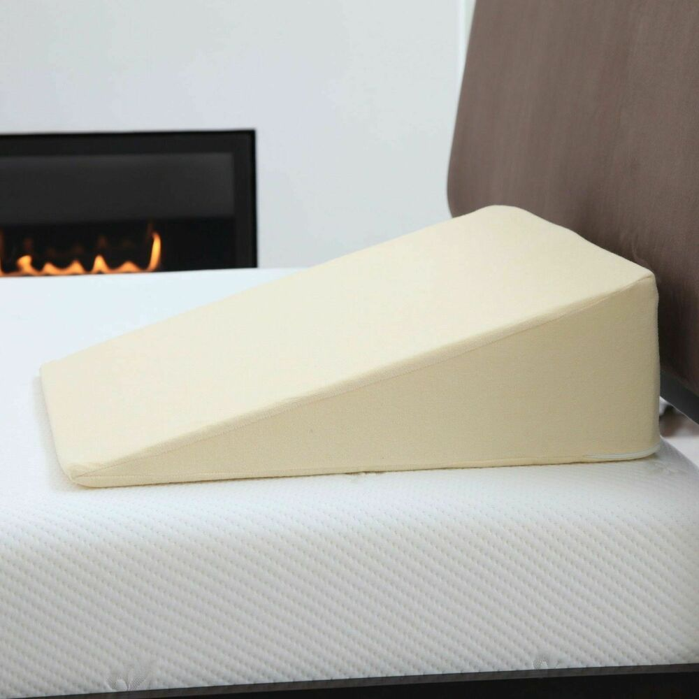 Remedy Acid Reflux Wedge Pillow With Cover Ebay
