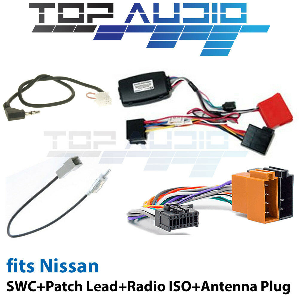 chni3a steering wheel control iso harness antenna adaptor data patch lead wiring cat5 patch lead wiring
