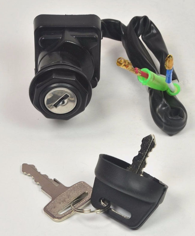 ignition key switch can am bombardier ds 650 ds650 baja x. Black Bedroom Furniture Sets. Home Design Ideas