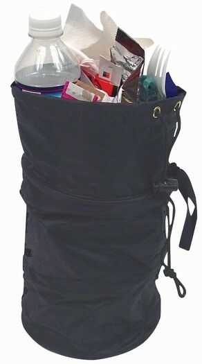Collapsible trash litter bag portable garbage can for car truck interior ebay - Collapsible waste basket ...