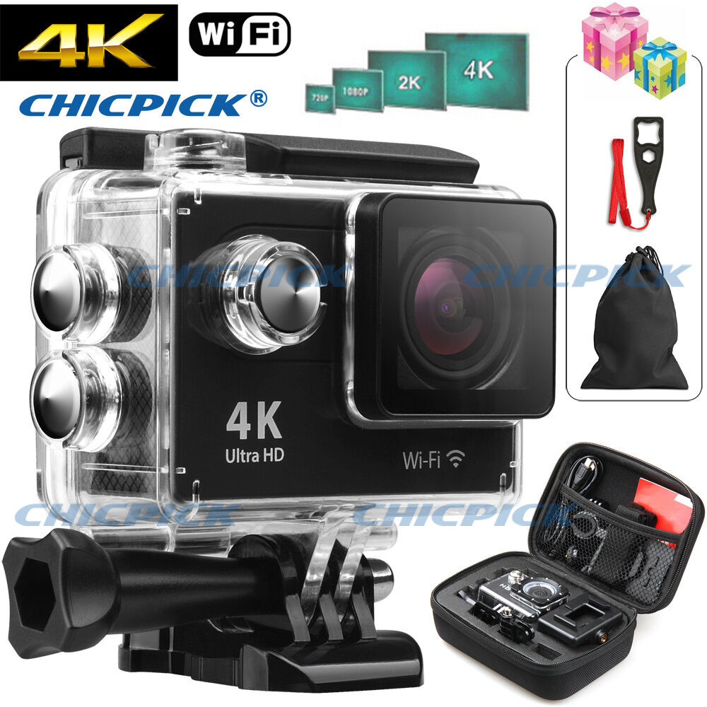 ultra 4k hd 1080p waterproof wifi sj4000 dv action sports camera video camcorder ebay. Black Bedroom Furniture Sets. Home Design Ideas